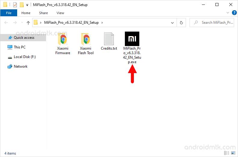 Mi Flash Pro Open Setup