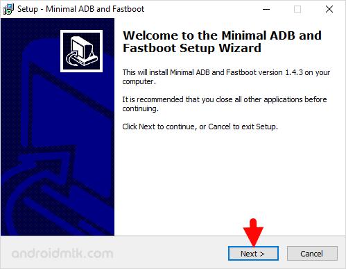 Minimal Adb Fastboot Setup