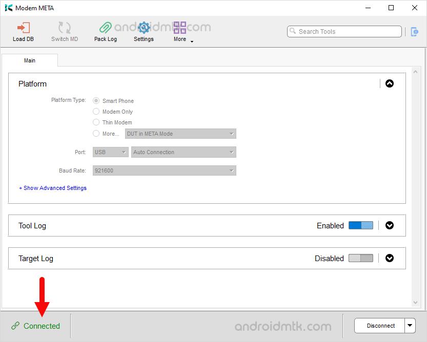 Modem Meta Connected