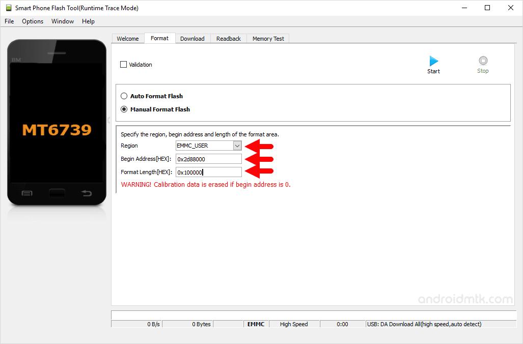 Mt6739 0X2D88000 0X100000 Sp Flash Tool