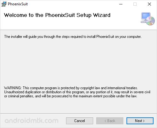 Phoenixsuit Setup