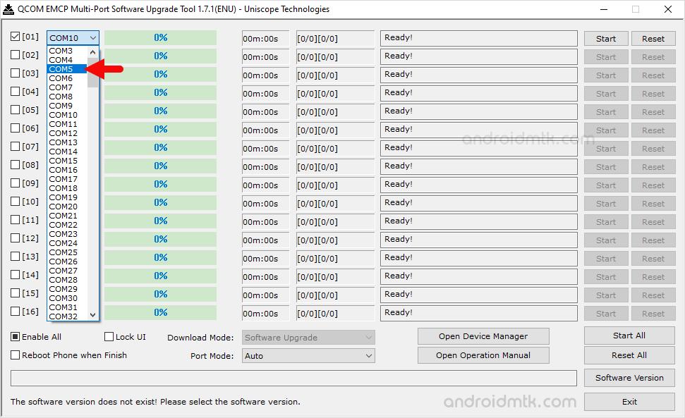 Qcom Emcp Multi-Port Comport
