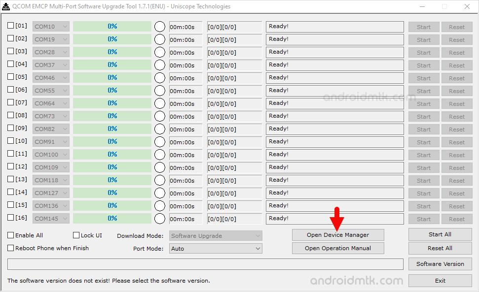 Qcom Emcp Multi-Port Device Manager