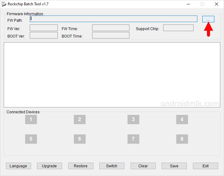 Rockchip Batch Tool Browse