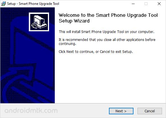 Smart Phone Upgrade Tool Install