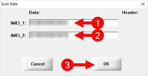 SN Write Tool Scan Data