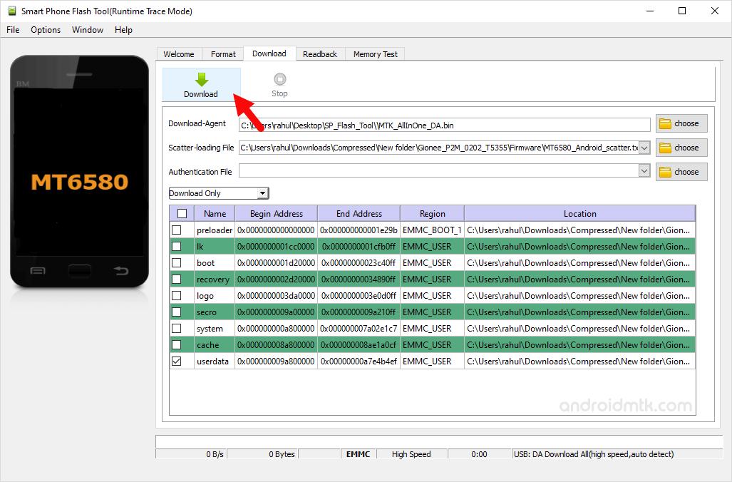 Sp Flash Tool Userdata Remove Pattern Lock