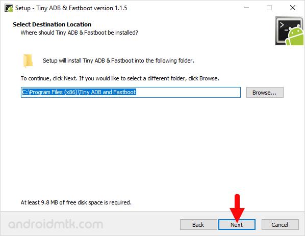 Tiny Adb Fastboot Setup Location