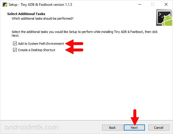 Tiny Adb Fastboot Setup Tasks