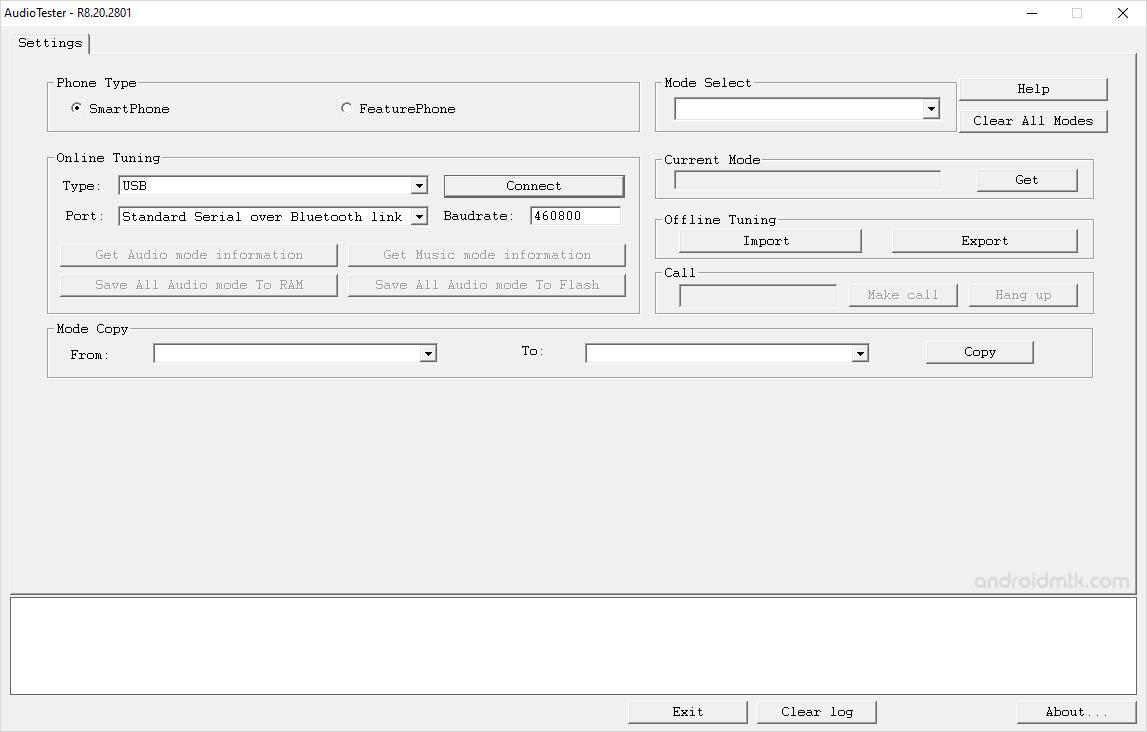 Unisoc Audiotester Tool