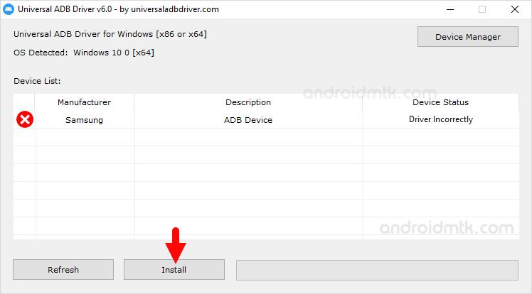 Universal Adb Driver Install