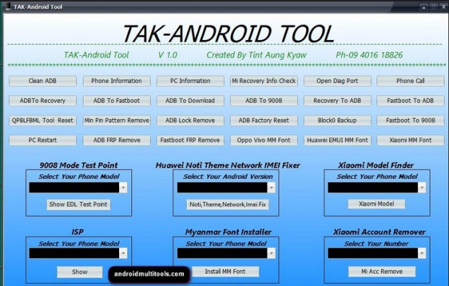 Tak Android Tool