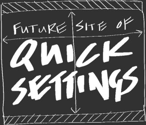 notifica quick settings