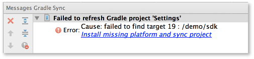 Android Studio Beta missing