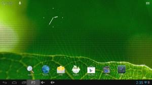 MK808B home screen