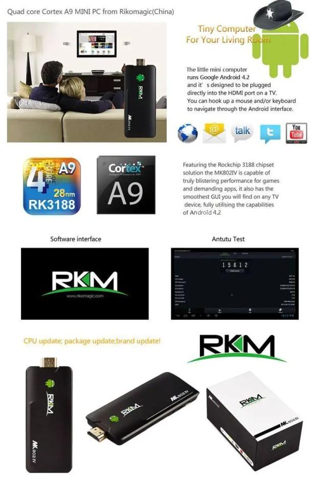 RKM MK802 IV specs