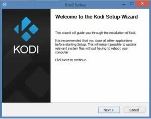 Kodi Setup Wizard
