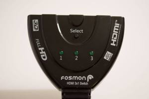 Fosmon HDMI Switch - top view