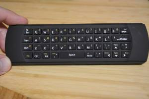 MyGica ATV1900 Pro remote QWERTY keyboard