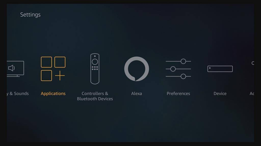 How to reset Kodi on Fire TV - Application settings