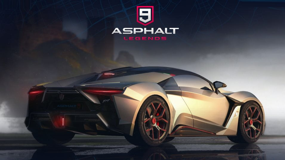 Asphalt 9 Legends now available on Android iOS and PC