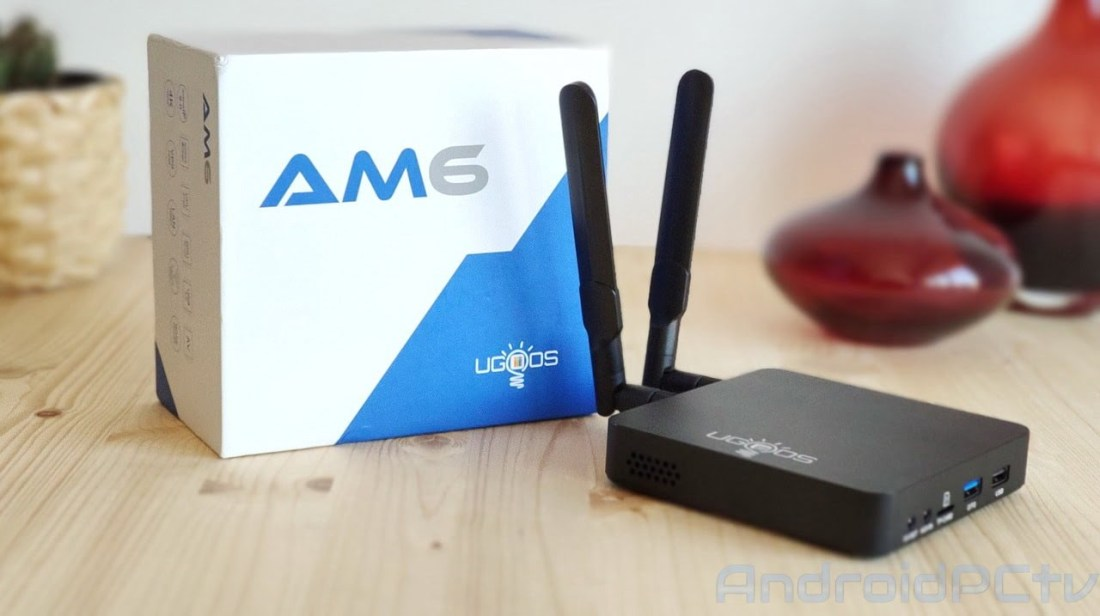 REVIEW: UGOOS AM6 a TV-Box with the powerful Amlogic S922X SoC