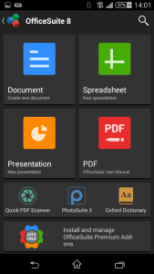 OfficeSuite 8 - Android Picks