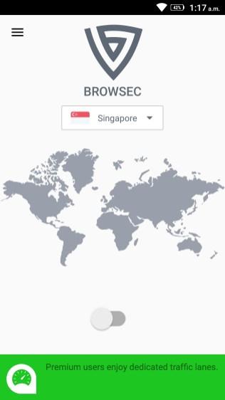 Browsec Screenshots - Android Picks (3)