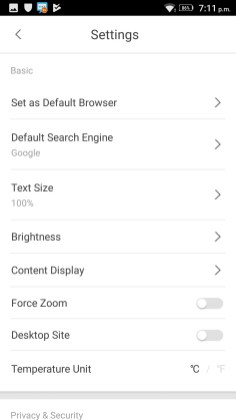 APUS Browser Screenshots - Android Picks (3)