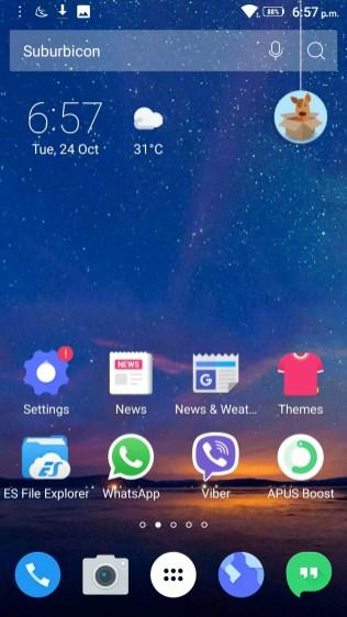 APUS Launcher Screenshots - Android Picks (1)