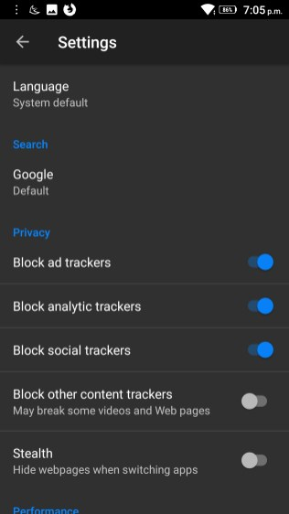 Firefox Focus Screenshots - Android Picks (3)