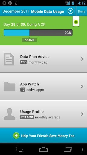 data usage month