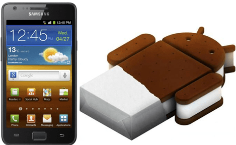 Galaxy S II ICS