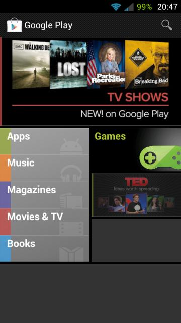 Jelly Bean Playstore