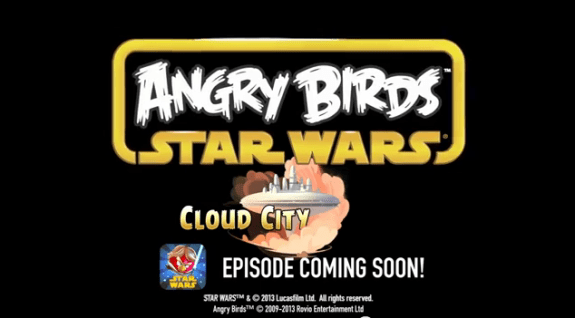 Cloud City Episode For Angry Birds Star Wars Coming Soon