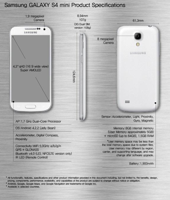Samsung-GALAXY-S4-mini-specs