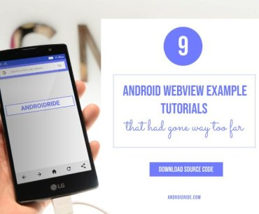 android webview example tutorial - download source code