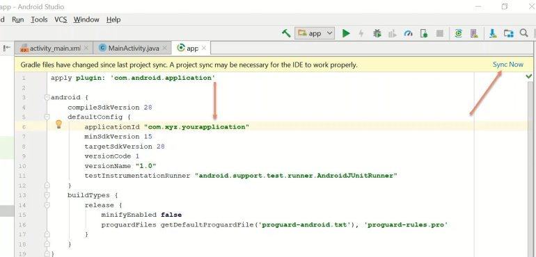 3 Methods To Change Or Rename Android App Package Name in