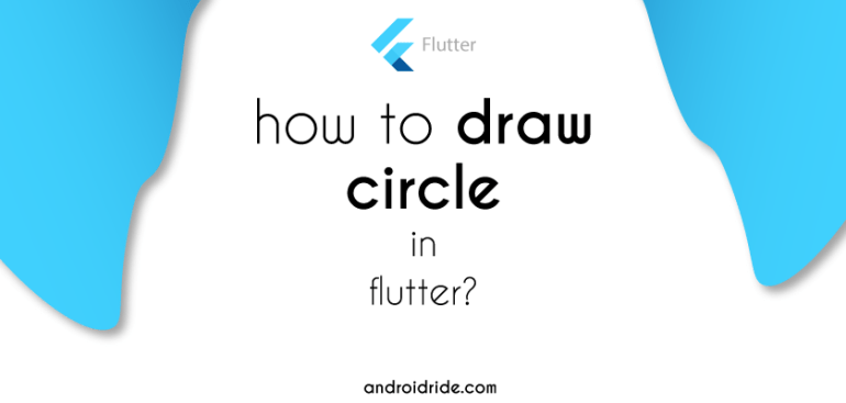flutter draw circle example