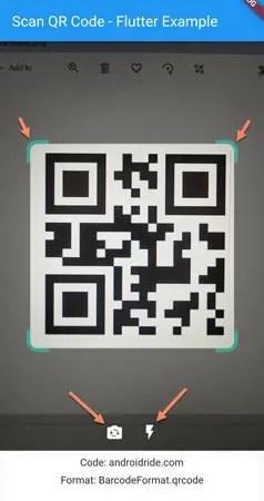 scan qr code flutter