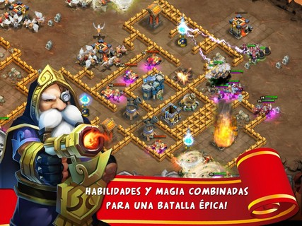 Captura de Castle Clash  PAra Android