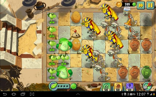 Screenshot De Plants vs. Zombies 2 Para Android