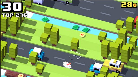 Screenshot De Crossy Road Para Android