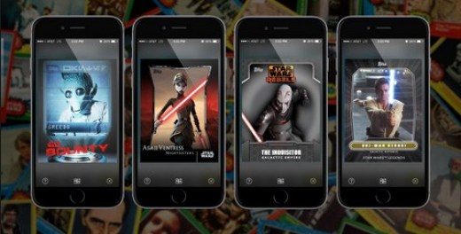 Screenshot De STAR WARS card trader Para Android