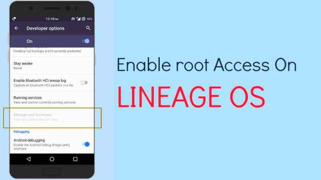 Lineage OS Root 2017