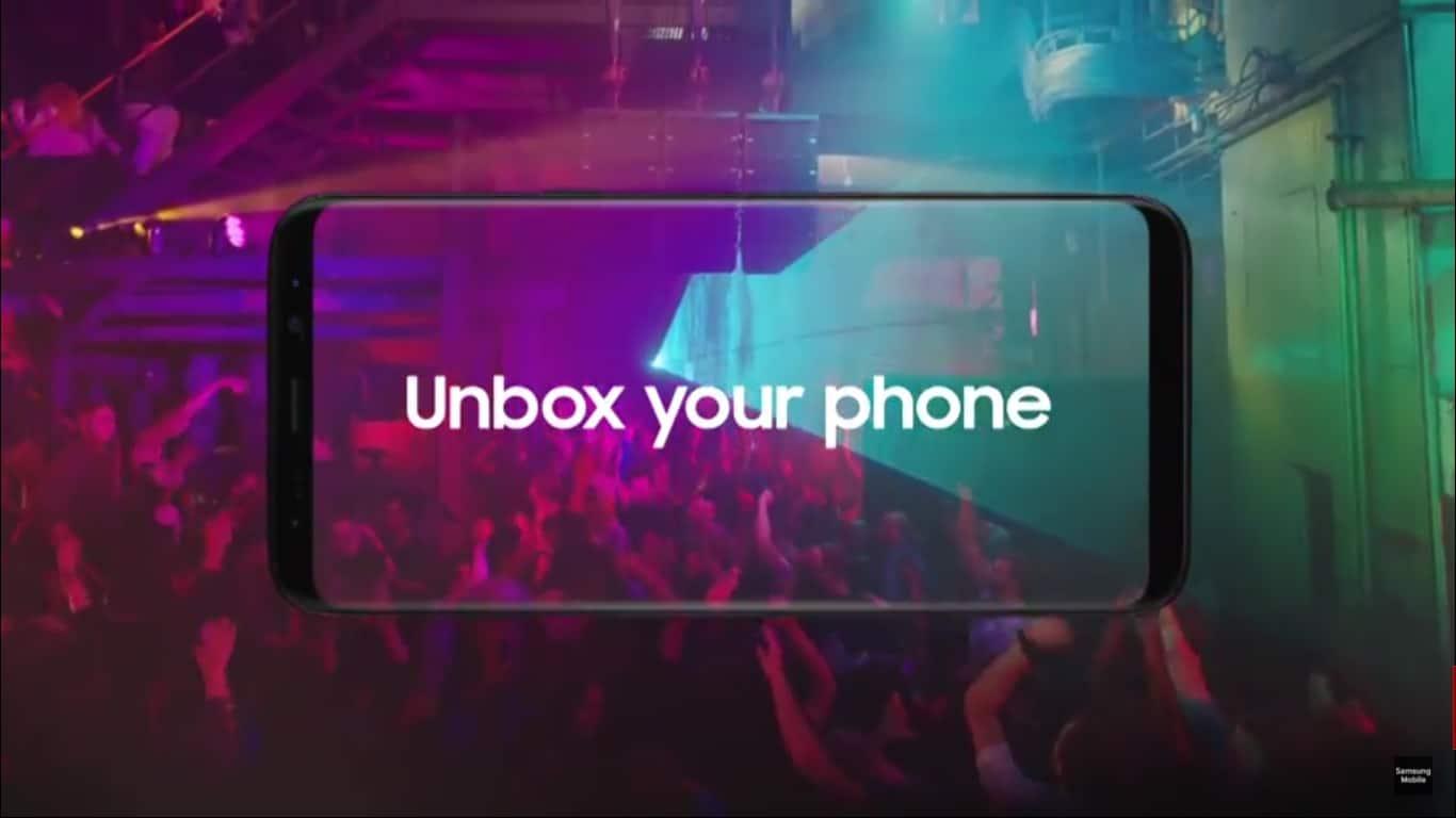 Samsung Galaxy S8 presentacion