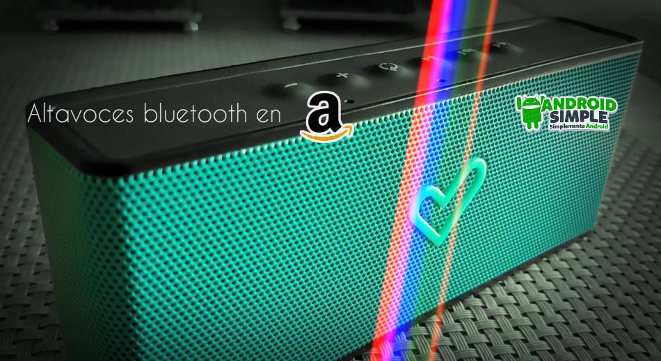 Altavoz bluetooth en Amazon
