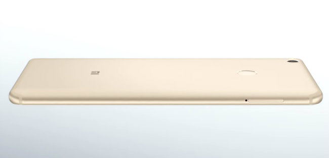 Xiaomi Mi Max 2 Curvas