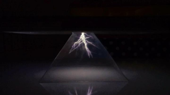 Usando seu Smartphone como projetor de hologramas