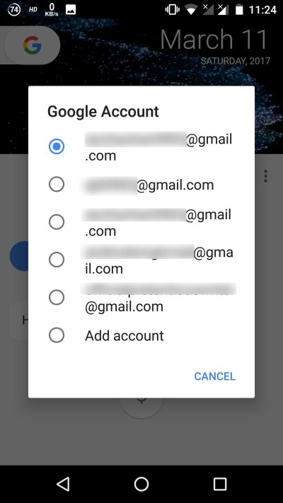 Google Assistant Switch Account